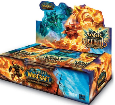 WoW TCG - Krieg der Elemente -  War of the Elements Display OVP Booster Box Loot