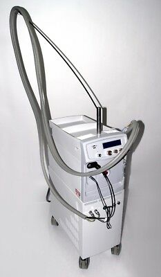 Lyra Laserscope 2002 Nd:YAG Laser w CoolSpot HandPcs 1-5&10mm Hair Removal/Vein