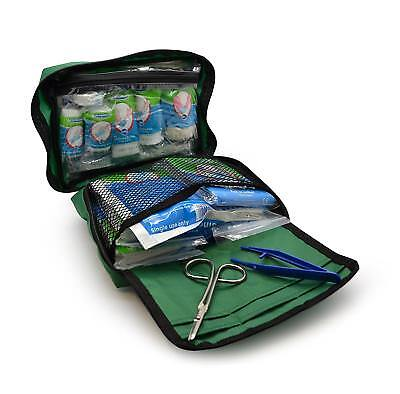 90 Piece Essential Emergency Items Kit First Aid Workplace Travel Portable Bag