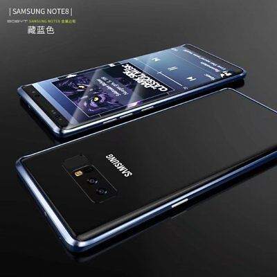 Slim Aluminum Metal Border Frame Cover Shockproof Case For Samsung Galaxy Note 8