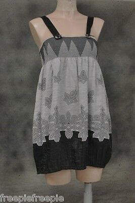 tee shirt robe tunique bretelles  gris  taillle 36/38  GOOD LOOK 0714429