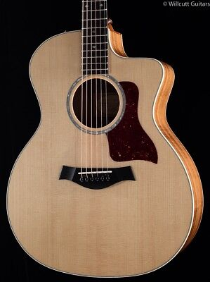 Taylor 214ce-koa Dlx Es2 Limited Bargain Item Eleaco Guitar Acoustic Electric Guitars taylor 214ce-koa Dl Musical Instruments & Gear