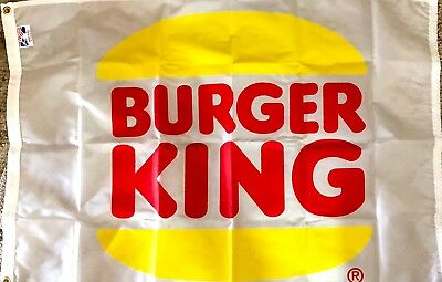 Vintage Burger King Flag from 1980's.