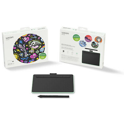 Wacom Intuos Creative Pen Tablet with Bluetooth - Small, Pistachio