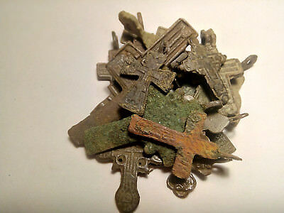 Metal detector finds. MIX RARE Crosses