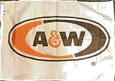 Vintage A&W Flag from 1980's