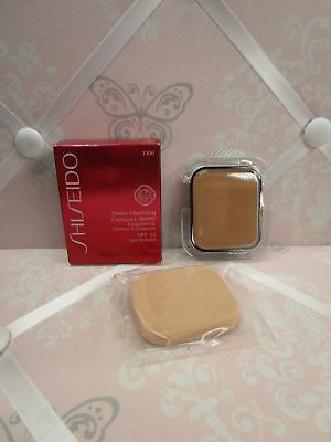Shiseido Sheer Matifying Compact Refill Very Deep Ivory I 100 .34 Oz. Boxed