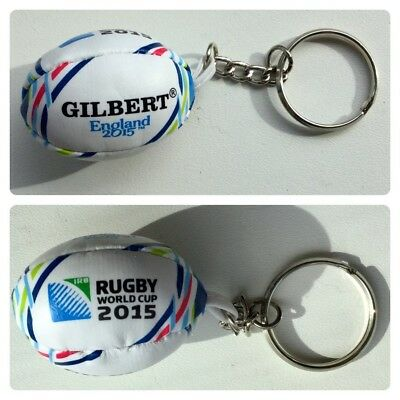 England 2015 Rugby World Cup Soft Ball Keyring