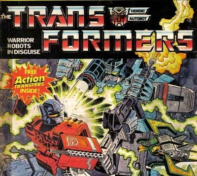 TRANSFORMERS UK - 241 Classic Vintage UK Comics on DVD Rom