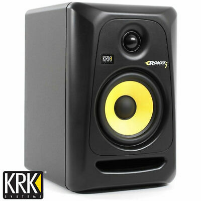 "KRK Rokit 5 Powered Studio Monitor Speaker RP5G3 Gen 3 5"" Active (Single)"