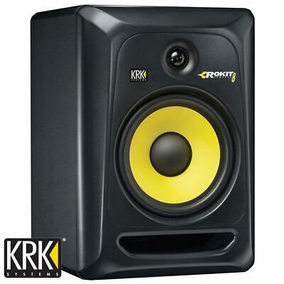 "KRK Rokit 8 Powered Studio Monitor Speaker RP8G3 Gen 3 8"" Active (Single)"