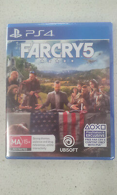 Far Cry 5 PS4 Game (NEW & SEALED)
