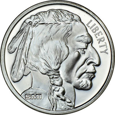 SUNSHINE MINT BUFFALO 1 Troy Oz .999 Silver Round w Security Feature NO TAXES!
