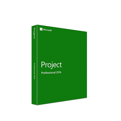 Microsoft Project Professional 2016 Digital License Code FAST DELIVERY