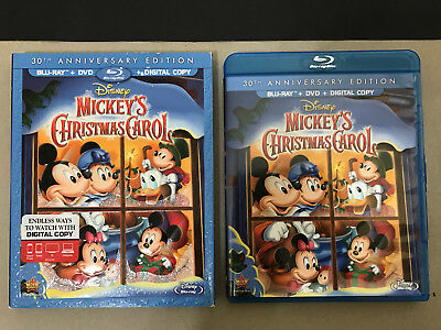 disney mickeys christmas carol blu ray rare oop slipcover 80 rated - Mickeys Christmas Carol Blu Ray