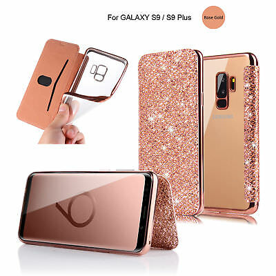 Ultra Thin Flip Wallet Case Soft Clear Silicone TPU Cover For iPhone/Samsung   D