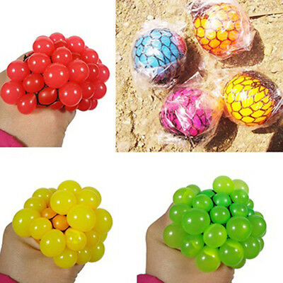 AL_ New Mesh Ball Sensory Fun Toy - Fiddle Fidget Stress Sensory Autism ADHD Qua