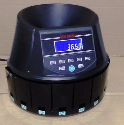 AUSCOUNT COIN COUNTER sorter  AUS960  XTRA QUICK 250+ coins per min. HOT SELLER