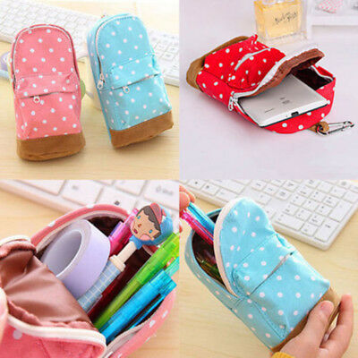 New mini School bag Pen Case Student's Canvas Pencil Case Children Pen Bag