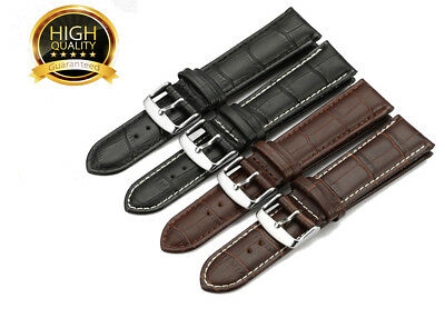 Genuine Leather Watchband 18mm 20mm 22mm 24mm Wristwatch Band Sports Watch Strap