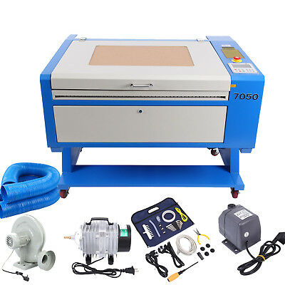 80W CO2 lasergraviermaschine engraving Carving Cutting FräSen graviergerät LCD