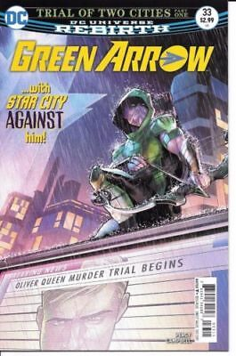 DC Comics Rebirth GREEN ARROW #33 first printing cover A