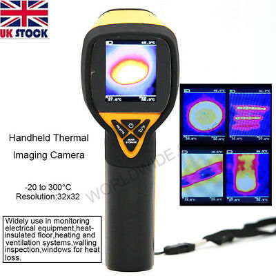 UK HT-175 Infrared Thermal Camera Imaging 32X32 Temperature -20 to 300 Degree