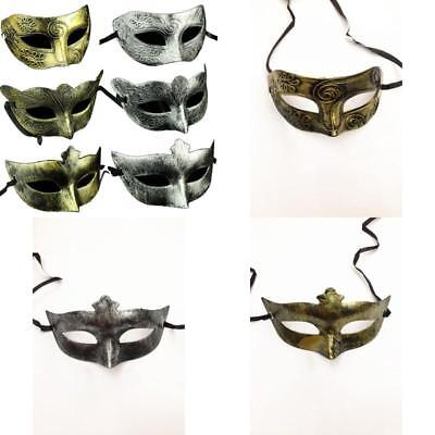 Adults Elegant Vintage Mask Antique Look Venetian Masquerade Party Masks 6 Pack