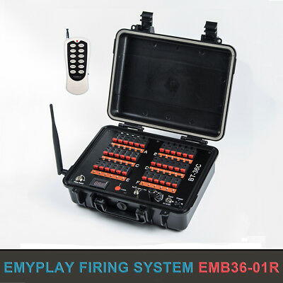 36 Cues wireless Fireworks Firing System rechargeable remote wedding equipment