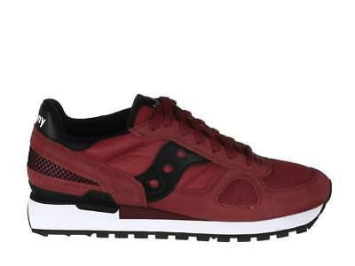 Saucony Originals Shadow O' Uomo 21082108599 REDBLACK Primavera Estate 2018