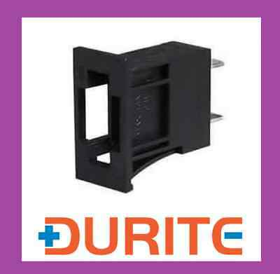 PANEL MOUNTED BLADE FUSE HOLDER FOR 22x11mm HOLE - DURITE QUALITY 0-376-50