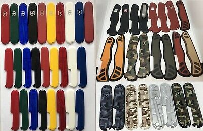 FOR  SWISS ARMY KNIFE 84mm/91mm/111mm  Front/Back  GENUINE SCALES/HANDLES part