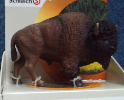 Schleich American Bison Buffalo Highly Detailed Hand Painted Toy Animal Figure