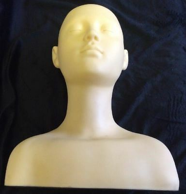 New Massage Practice Esthetics Training Shoulder Mannequin Manakin Free Shipping