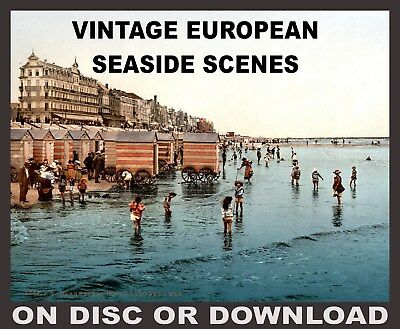 Vintage Edwardian Seaside Photochrome Photo Reprint Brixham 1 A4