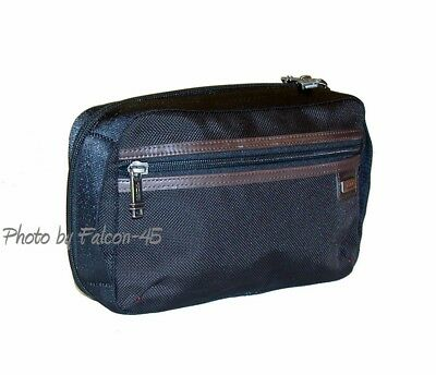 Tumi Alpha Bravo Riley Travel Shaving Bag Toiletry Kit 22391 Hickory