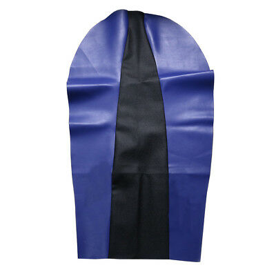 Soft Seat Cover PU Leather For Yamaha TTR250 XT 225 250 250cc TW200 TW225 Blue