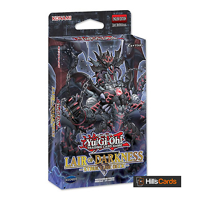 YuGiOh Lair of Darkness Structure Deck SR06 New & Sealed English 1st Edition