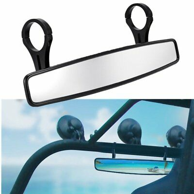 """15"""" Wide Rear View Race Mirror with 2"""" Clamp for 2.0"""" Cage Can Am Commander Cage"""