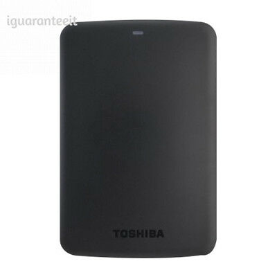 Toshiba - Canvio 3TB External USB 3.0 Portable Hard Drive Black