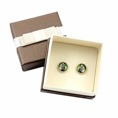 Cane Corso.Pet in your ear. Earrings with box. Photojewelry. Handmade. UK