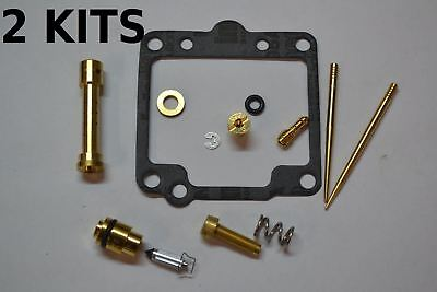 2x Yamaha 80-83 XS650 Carburetor Carb Rebuild Kit - 2 KITS