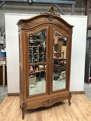 Late 19th Century French Provincial Armoire Wardrobe