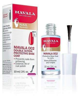 Mavala Switzerland 002 Protective Base Coat Stops Nail Color Stains  - Manicure