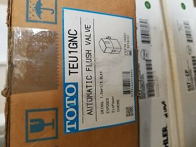 New TOTO TEU1GNC-Automatic Flush Valve 1GPF   Great flush valve