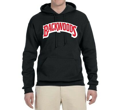 Backwoods Cigars Graphic Blunt Humor Sweatshirt Funny Hip Hop Logo Parody Hoodie