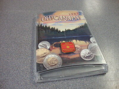 """1999 """"oh Canada!"""" Royal Canadian Mint Uncirculated Coin Set, Unopened As Issued"""