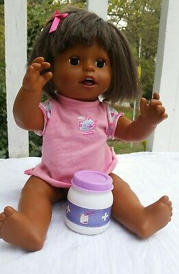 Mattel Little Mommy Baby Ah Choo Doll interactive talking sneezing Fisher-Price