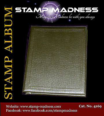 STAMP ALBUM 50 Pages No Stamps Hinge-type Some hinge marks Used from Bulk Buy