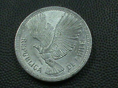 CHILE   10 Pesos  1957  UNCIRCULATED  ,  $ 2.99  maximum  shipping  in  USA